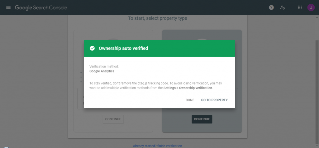 complete verify ownership