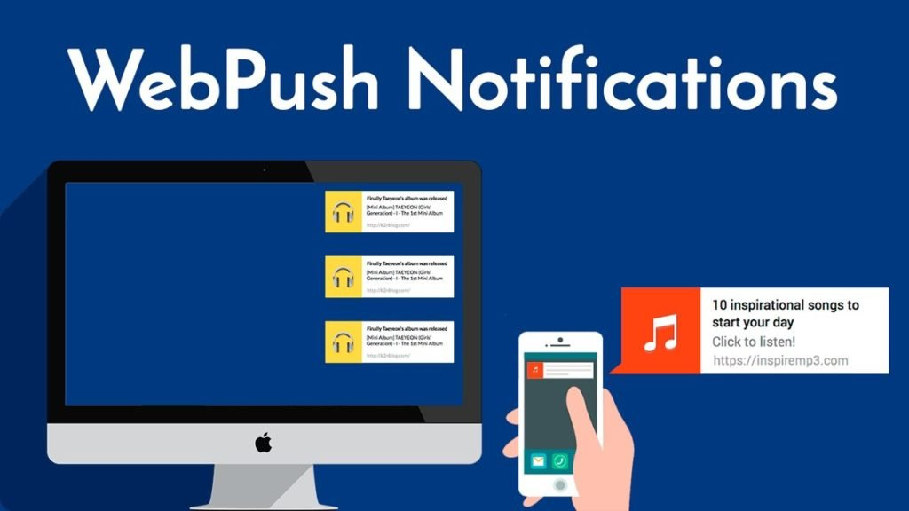 how to add web push notifications