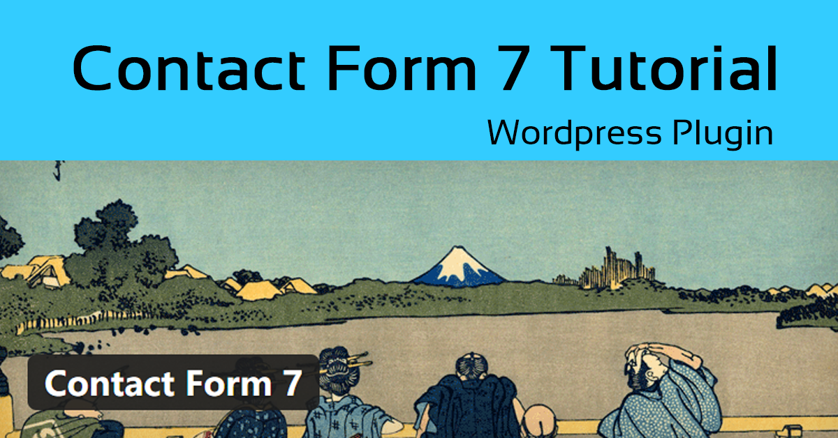 set up contact form 7